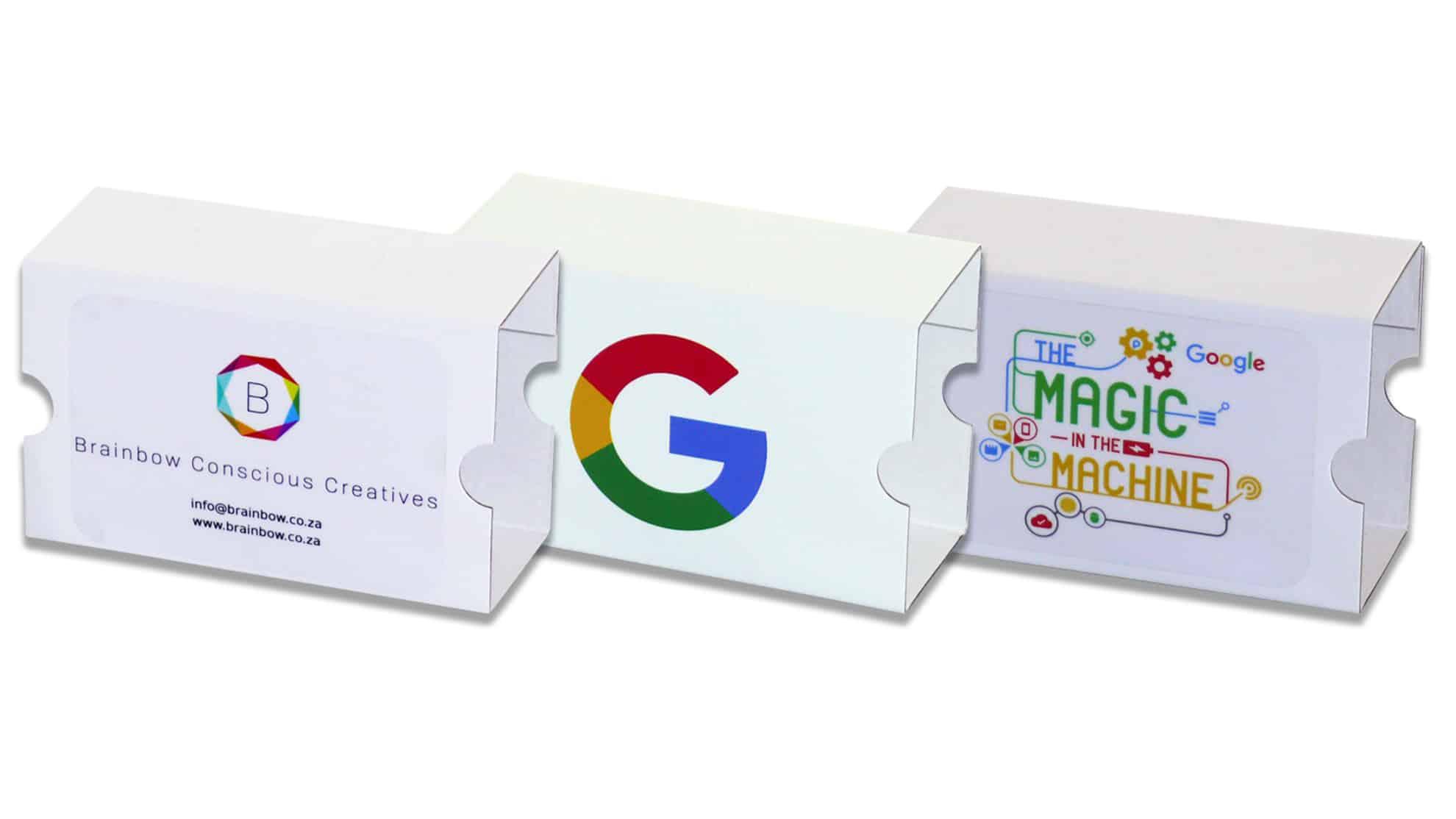 Custom Branded Google Cardboard Virtual Reality Headsets